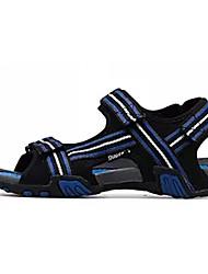 cheap -Men's Fabric Summer Comfort Sandals Black / Blue / Black / Yellow / Orange / Black