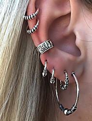 cheap -Hoop Earrings - Vintage, European, Fashion Silver For Street