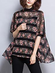cheap -Women's Blouse - Floral Print