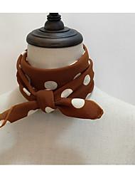 cheap -Women's Basic Polyester Rectangle - Polka Dot Striped Criss-Cross