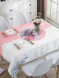Недорогие -Современный Квадратный Скатерти Цветочный принт Геометрический принт Настольные украшения