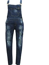 abordables -Mujer Básico Vaqueros / Chinos Pantalones - Un Color