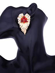 Недорогие -Серьги-гвоздики - Сердце Массивный, Мода Красный / Синий / Розовый Назначение Вечеринка / ужин Повседневные