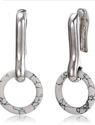 cheap -Women's Stud Earrings / Drop Earrings / Hoop Earrings - Resin European, Korean, Fashion Silver For Wedding / Daily