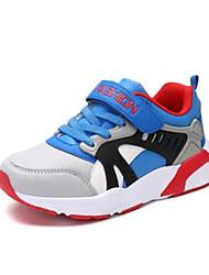 baratos -Para Meninos Sapatos Couro Ecológico Verão Conforto Tênis para Azul Escuro / Vermelho / Azul