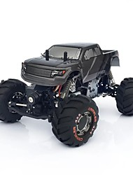 abordables -Coche de radiocontrol  HAIBOXING HAIBOXING 2098B 2 Canales 2.4G Buggy (de campo traversa) / 4WD 1:12 Brush Eléctrico 3 km/h KM / H