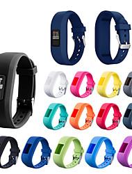 cheap -Watch Band for Garmin vívofit jr Garmin Sport Band Silicone Wrist Strap