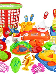 cheap -Pretend Play Home Kitchen Tool / Parent-Child Interaction Child's / Preschool Gift 35pcs