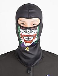 baratos -Máscaras de Esqui / Máscara Facial Todas as Estações Manter Quente / Á Prova-de-Pó / Respirabilidade Acampar e Caminhar / Exercicio Exterior / Ciclismo / Moto Unisexo Elastano Caveiras / Anjo e Diabo