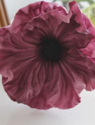 abordables -Fleurs artificielles 1 Une succursale Mariage / Style Simple Coquelicot Arbre de Noël