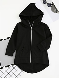 cheap -Boys' Solid Suit & Blazer, Cotton Polyester Long Sleeves Vintage Cute Casual Active Cartoon Green Black Gray