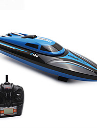 cheap -RC Boat H100 Plastics 4pcs Channels 35km/h KM/H