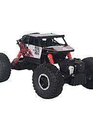 baratos -Carro com CR 893 2.4G Jipe (Fora de Estrada) / Rock Climbing Car 1:16 Electrico Não Escovado 30 km/h KM / H