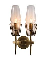 baratos -JLYLITE Estilo Mini Simples / Moderno / Contemporâneo Interior / Garagem Metal Luz de parede 110-120V / 220-240V 40W