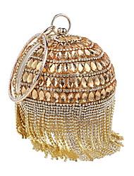 preiswerte -Damen Taschen Polyester / Strass Steine Abendtasche Perlenstickerei / Kristall Verzierung / Quaste für Hochzeit / Veranstaltung / Fest