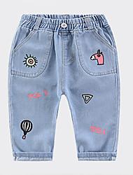 preiswerte -Kinder Unisex Geometrisch Jeans