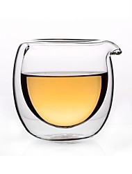 cheap -Drinkware Glasses / High Boron Glass Tea Cup / Glass / Accessories Heat-Insulated / Girlfriend Gift 1pcs
