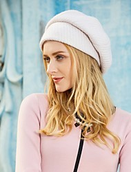 cheap -Acrylic / Cotton / Polyester Hats with Ruched 1pc Casual / Daily Wear Headpiece