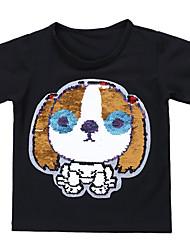 economico -Bambino Bambino (1-4 anni) Da ragazzo Con stampe Manica corta T-shirt