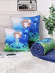 Недорогие -Комфортное качество Запоминающие форму тела подушки Складной / обожаемый подушка Пена с памятью Полиэстер