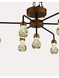 Недорогие -QIHengZhaoMing 7-Light кластер Люстры и лампы Рассеянное освещение - Хрусталь, 110-120Вольт / 220-240Вольт, Теплый белый, Светодиодный
