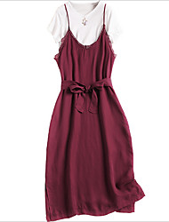cheap -Miss French Women's Polo - Solid Colored Dress