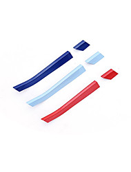 Недорогие -12шт Автомобиль Отделка передней решетки автомобиля Деловые Тип пасты для Левая часть передней решетки / Правая часть передней решетки Назначение Buick воображать 2018