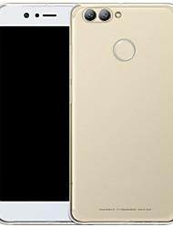 baratos -Capinha Para Huawei Nova 2 Plus Transparente Capa traseira Sólido Macia TPU para Nova 2 Plus