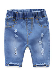 cheap -Kids / Toddler Girls' Solid Colored Jeans