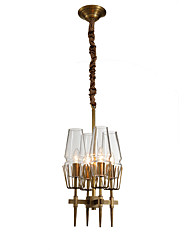 cheap -LightMyself™ 4-Light Candle-style Chandelier Ambient Light - Crystal, 110-120V / 220-240V Bulb Not Included / 10-15㎡ / E12 / E14