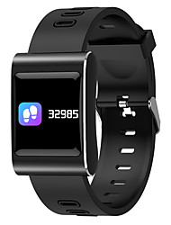 cheap -Smartwatch STk88plus for Android 4.3 and above / iOS 7 and above Heart Rate Monitor / Blood Pressure Measurement / Calories Burned / Long Standby / Touch Screen Stopwatch / Pedometer / Call Reminder