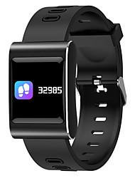 abordables -Montre Smart Watch Ecran Tactile Moniteur de Fréquence Cardiaque Etanche Calories brulées Pédomètres Suivi de distance Anti-lost Contrôle