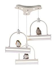 abordables -3-luz Racimo Lámparas Araña Luz Downlight - Mate, Mini Estilo, 110-120V / 220-240V, Blanco Cálido, Bombilla incluida / 20-30㎡ / VDE