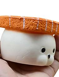 baratos -LT.Squishies Brinquedos de Apertar / Antiestresse Urso O stress e ansiedade alívio / Brinquedos de descompressão Others 1pcs Crianças