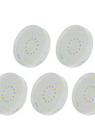 abordables -5pcs 5W 48 LED Installation Facile Lampes d'Armoire LED Blanc Chaud Blanc Froid Blanc Naturel 220-240V Entrée / Escaliers