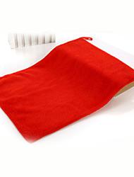 abordables -Style frais Serviette de bain Essuie-mains, Couleur Pleine Qualité supérieure Polyester / Coton 100% coton 1pcs