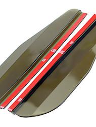 baratos -2pcs Carro Sobrancelhas de chuva de carro Negócio Tipo de pasta For Espelho Retrovisor For Universal Todos os Modelos Todos os Anos