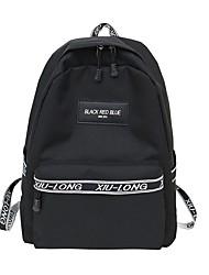 cheap -Women's Bags Nylon Backpack Zipper Blushing Pink / Gray / Fuchsia