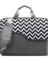 "cheap -Nylon Lines / Waves Shoulder Bag 17"" Laptop / 15"" Laptop"