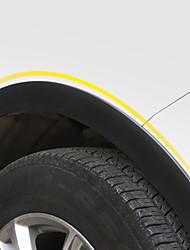 baratos -1 Peça Carro Sobrancelha de roda de carro Comum Tipo de pasta For Roda de carro For Universal Todos os Modelos Todos os Anos