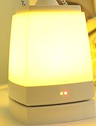 baratos -1pç mesa de luz LED Night Light Branco Quente USB Bluetooth / Controlado remotamente / Recarregável <5V