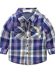 voordelige -Kinderen Meisjes Gestreept Lange mouw Overhemd
