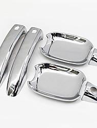 economico -8pcs Auto Porta Ciotola / Maniglie Lavoro Incolla il tipo For Portiera dell'automobile For Audi Q3 Tutti gli anni