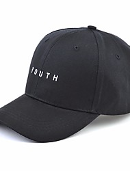 cheap -Men's Party / Basic Polyester Baseball Cap / Sun Hat - Solid Colored / Spring