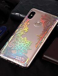 abordables -Coque Pour Xiaomi Redmi Note 5 Pro / Redmi 5A Plaqué / Motif Coque Impression de dentelle Flexible TPU pour Xiaomi Redmi Note 5 Pro / Redmi 5A / Xiaomi Redmi 5 Plus