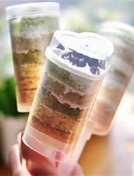 preiswerte -Backwerkzeuge Kunststoff Kreative Küche Gadget Cupcake / Für Kochutensilien Kuchenformen 10 Stück