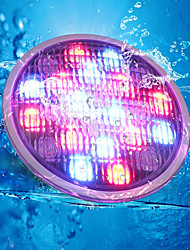 cheap -YouOKLight 1pc 18W Underwater Lights Remote Controlled Decorative RGB 24V Swimming pool