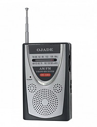economico -OJADE OE-1201 Mini portatile AM ​​/ FM 2-Band Radio