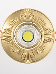 Недорогие -ZHISHU 1шт 9 Вт. 1 светодиоды Простая установка Встроенные Триколор LED даунлайт 110-120V 220-240V