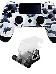 cheap -Wireless Handle bracket / Game Controllers For PS4, Bluetooth Low vibration / Touchpad / Vibration Handle bracket / Game Controllers ABS